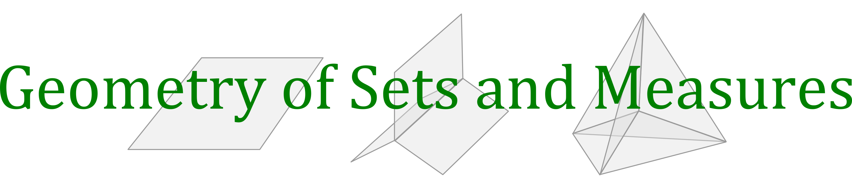Geometry of Sets and Measures